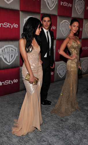 Zanessa @ Golden Globes After Party