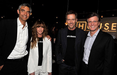 House md cast at 100 episode House party