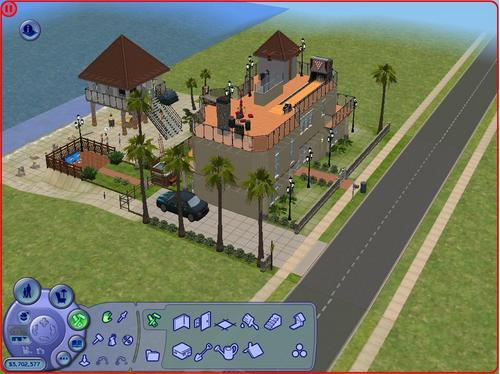 My Sims 2 vacation house on Twikkii Island