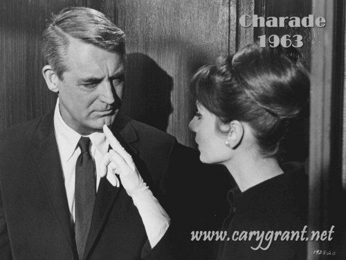 Cary Grant and Audry Hepburn