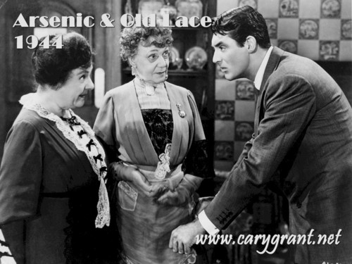 Cary Grant in Arsenic and Oldlace