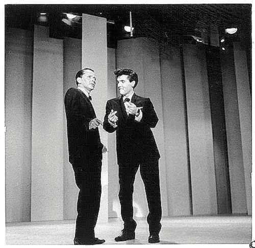 Elvis Presley and Frank Sinartra
