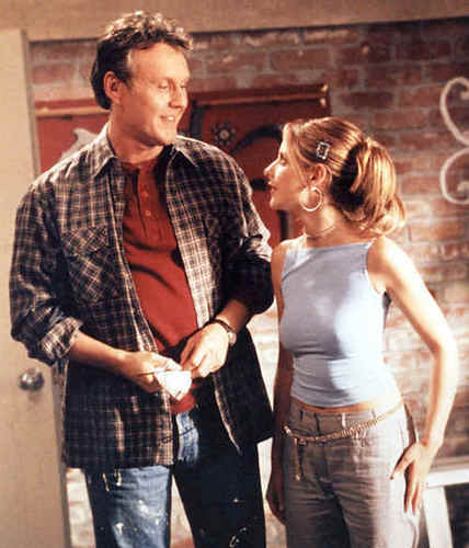 Giles and Buffy