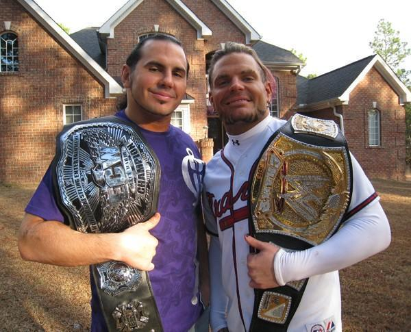 Matt and Jeff Hardy