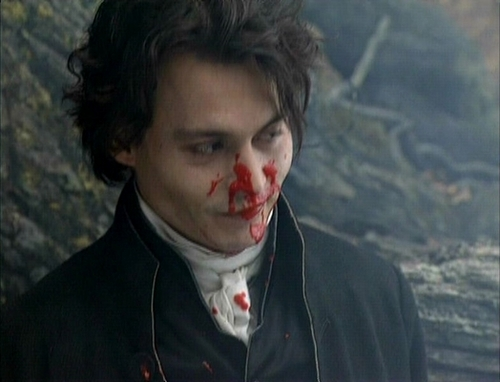 on the set of sleepy hollow