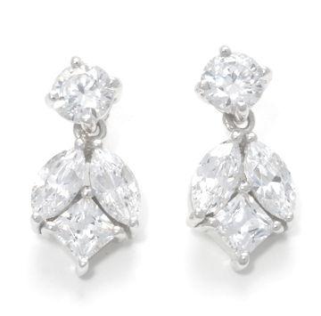 Ingrids diamond blossom ear rings
