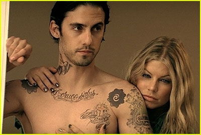 Milo Ventimiglia in Fergie's video Big Girls don't Cry