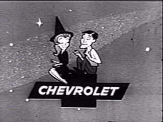 Animated opening credit,Bewitched sponsorship Chevorlet