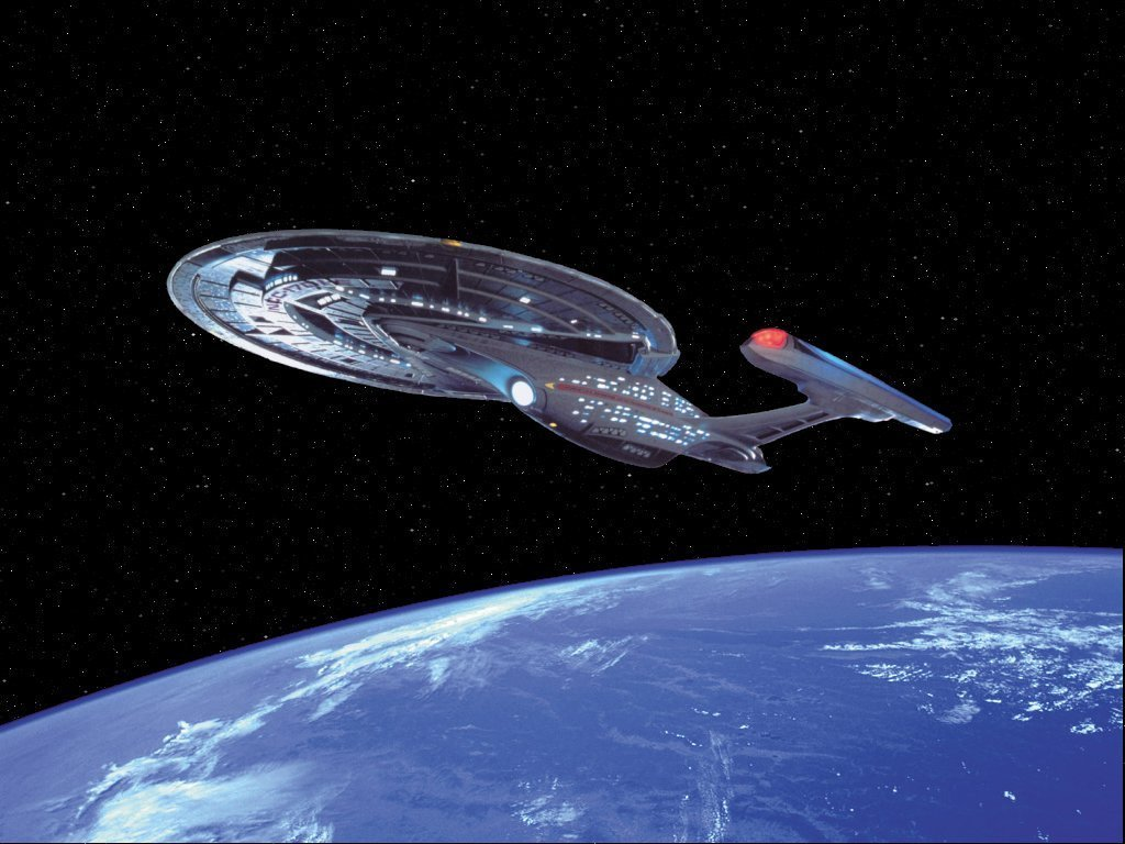 Enterprise E Star Trek The Next Generation Wallpaper 3983726