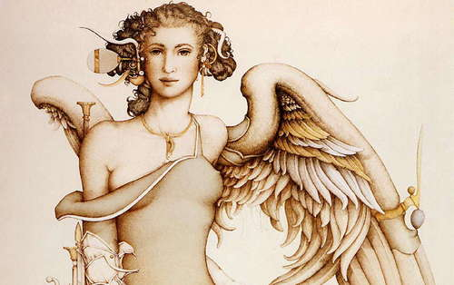 Fantasy Art- Michael Parkes (some nudity)