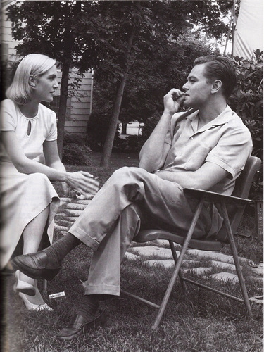 Leonard DiCaprio, with Kate Winslet in 'Revolutionary Road'