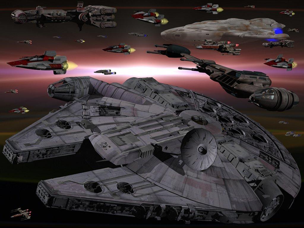 Millenium Falcon Star Wars Wallpaper 3951841 Fanpop