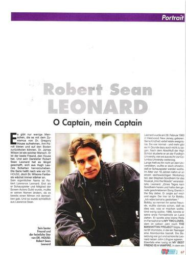 Robert Sean Leonard - German लेख