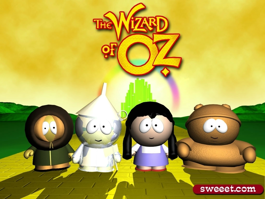 South Park Does The Wizard Of Oz The Wizard Of Oz Wallpaper