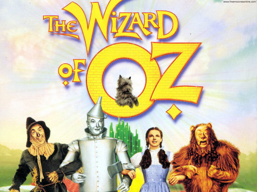 The wizard of oz پیپر وال