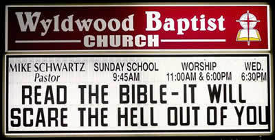 Awesome Church signs
