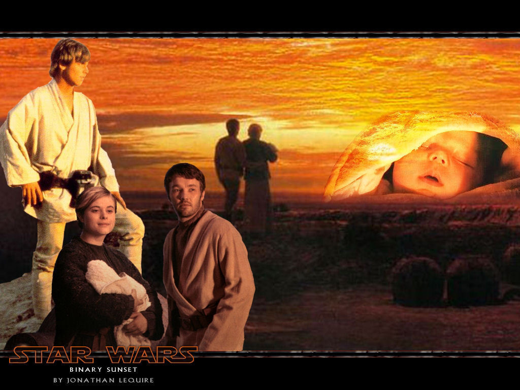Binary Sunset Star Wars Wallpaper 4032694 Fanpop