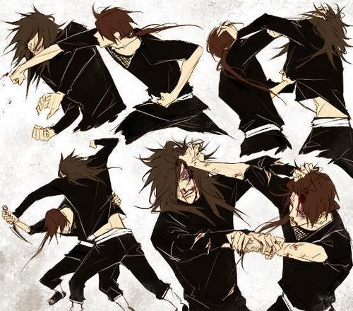 Madara and Itachi fight
