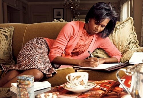 Michelle Obama Vogue Magazine picha