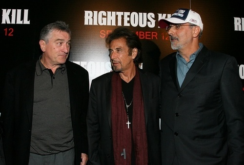 Righteous Kill premiere