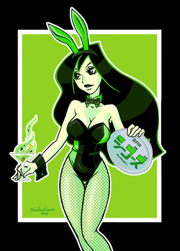 Shego as PLAYBOY(プレイボーイ) Bunny