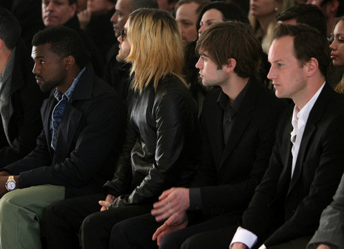 Calvin Klein Menswear - Front Row - Fall 09 MBFW(Chase Crawford)