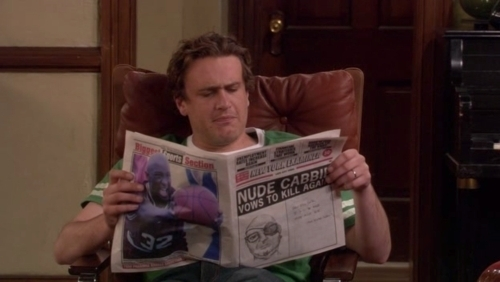 Marshall Doesn't Read a Magazine...