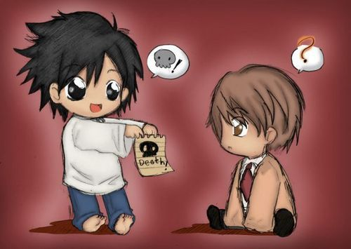 Chibi Death Note