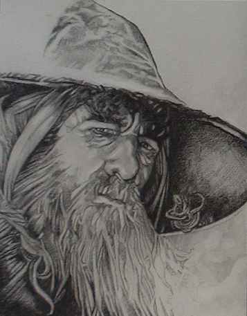 Gandalf Drawing