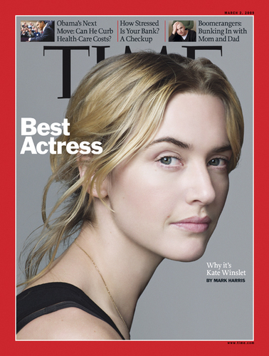 Kate on the cover of TIME magazine