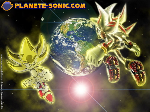 Sonic and Shadow 壁紙