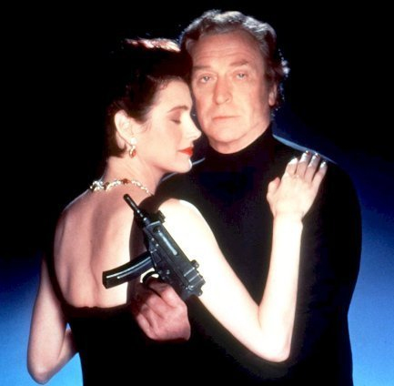 Michael Caine and Sean Young in Blue Ice