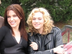 Sophia Bush and Hilarie Burton