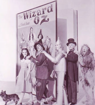 Wizard of Oz cast book