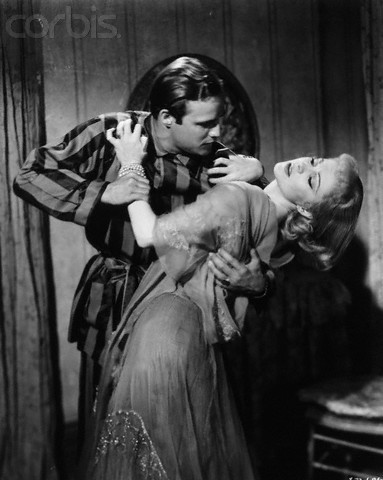 Stanley and Blanche in Streetcar