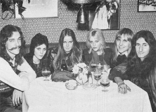 The Runaways with Rush