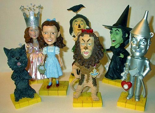 Wizard of Oz Bobble head Set