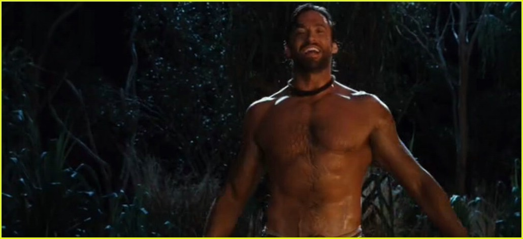 Hugh Jackman images Australia shower scene~ wallpaper