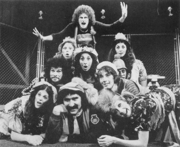 Cast of Godspell