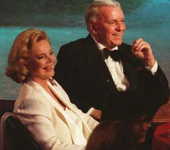 Frank Sinatra and Fourth Wife, Barbara