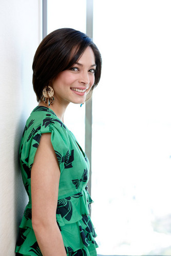 Kristin Kreuk: 2009 strada, via Fighter: The Legend Of Chun-Li Giappone Press Junket