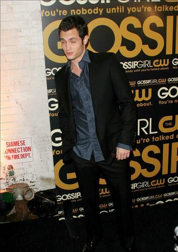 Penn At Gossip Girl Premiere Party.