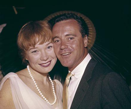 Shirley and Jack Lemmon
