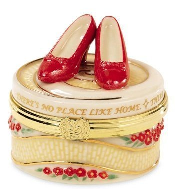 Ruby Slippers Trinket Box