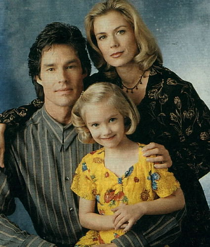 Brooke & Ridge with her daughter Bridget when she was a little girl