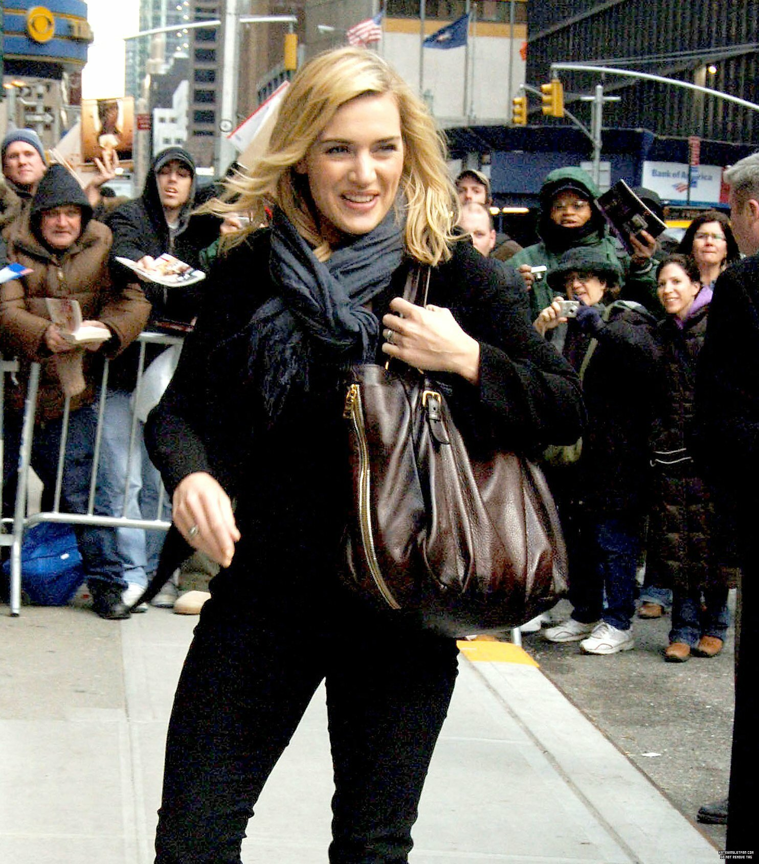 Kate @ Late Show w/ David Letterman Taping