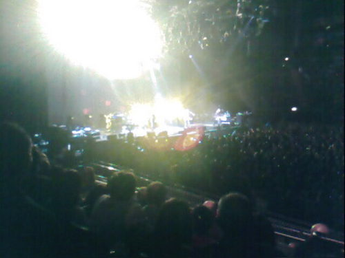 snow patrol live, i was there!