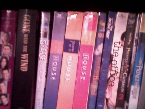 EL's pathetic DVD collection.