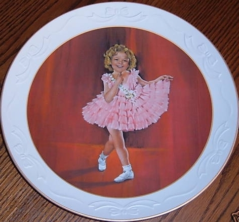 Shirley Temple Collector Plate from Baby Take A Bow