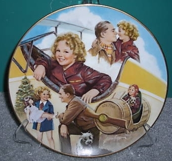 Shirley Temple in Bright Eyes Collector Plate